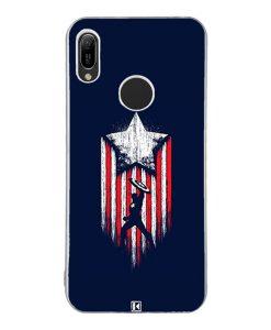 Coque Huawei Y6 2019 – Captain America