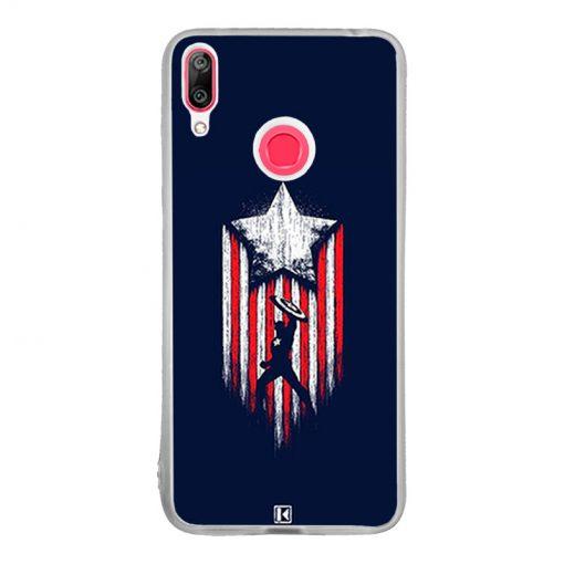 Coque Huawei Y7 2019 – Captain America
