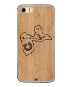 Coque iPhone 5/5s/SE – Guadeloupe 971