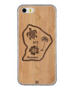 Coque iPhone 5/5s/SE – Guyane 973