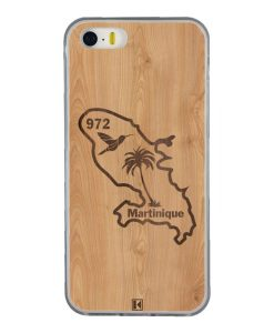Coque iPhone 5/5s/SE – Martinique 972