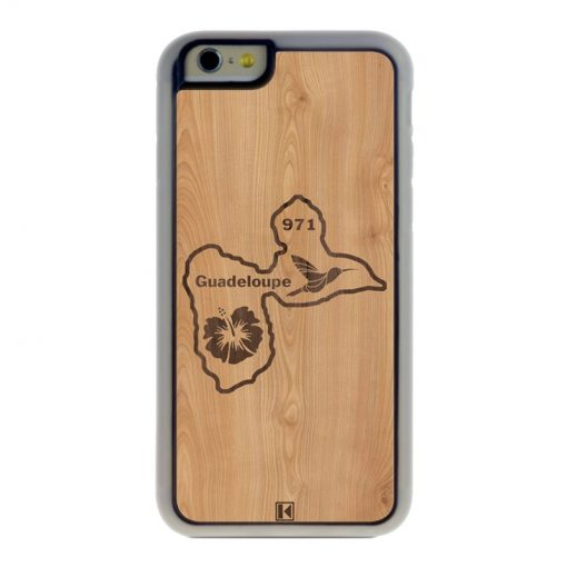 Coque iPhone 6 / 6s – Guadeloupe 971
