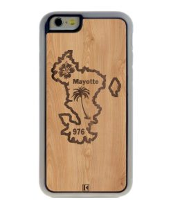Coque iPhone 6 / 6s – Mayotte 976
