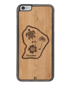 Coque iPhone 6 Plus / 6s Plus – Guyane 973
