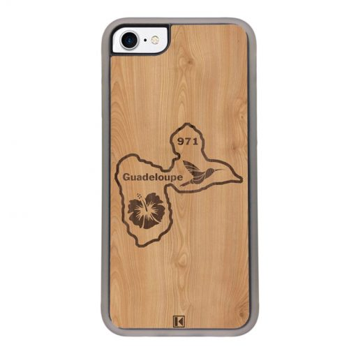 Coque iPhone 7 / 8 – Guadeloupe 971