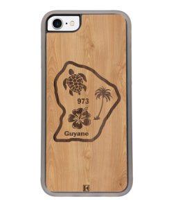 Coque iPhone 7 / 8 – Guyane 973