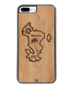 Coque iPhone 7 Plus / 8 Plus – Mayotte 976