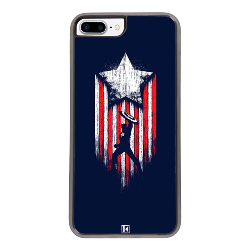coque iphone 8 plus captain america