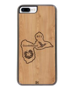 Coque iPhone 7 Plus / 8 Plus – Guadeloupe 971