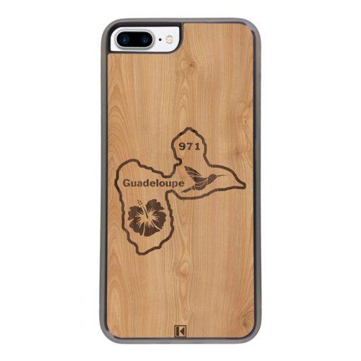 Coque iPhone 7 Plus / 8 Plus – Guadeloupe 971