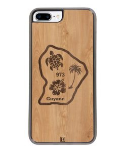 Coque iPhone 7 Plus / 8 Plus – Guyane 973