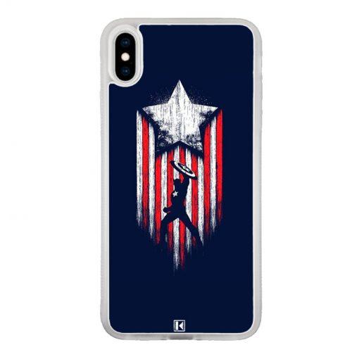 Coque iPhone X / Xs – Captain America
