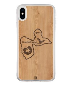 Coque iPhone X / Xs – Guadeloupe 971