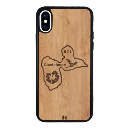 theklips-coque-iphone-x-rubber-noir-guadeloupe-971