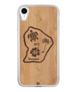 Coque iPhone Xr – Guyane 973