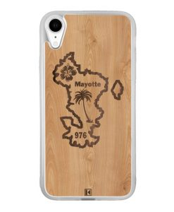 Coque iPhone Xr – Mayotte 976