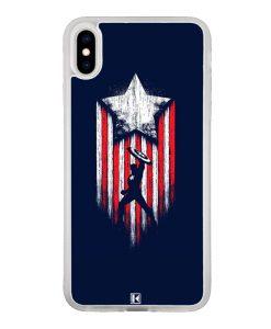 Coque iPhone Xs Max – Captain America