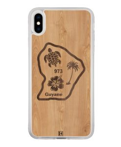 Coque iPhone Xs Max – Guyane 973