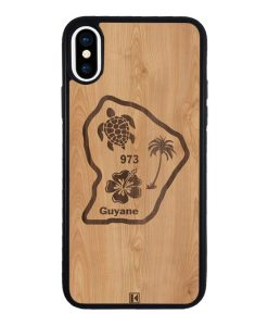 theklips-coque-iphone-xs-rubber-noir-guyane-973