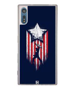 Coque Xperia XZ – Captain America