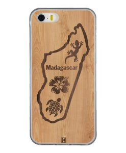 Coque iPhone 5/5s/SE – Madagascar