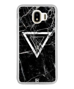Coque Galaxy J4 2018 – Black marble