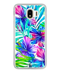 Coque Galaxy J4 2018 – Exotic flowers