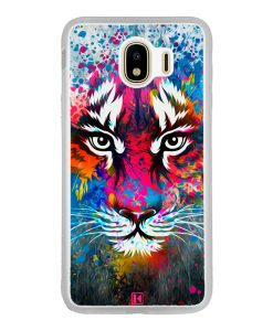 Coque Galaxy J4 2018 – Exotic tiger