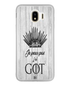 Coque Galaxy J4 2018 – Je peux pas j'ai Game of Thrones