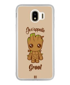 Coque Galaxy J4 2018 – Je s'appelle Groot