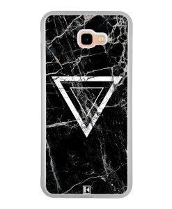 Coque Galaxy J4 Plus – Black marble