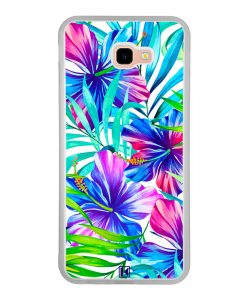 Coque Galaxy J4 Plus – Exotic flowers