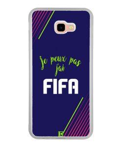 Coque Galaxy J4 Plus – Je peux pas j'ai FIFA