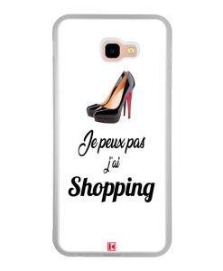 Coque Galaxy J4 Plus – Je peux pas j'ai Shopping