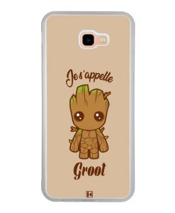 Coque Galaxy J4 Plus – Je s'appelle Groot