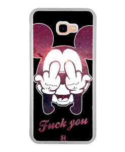 Coque Galaxy J4 Plus – Mickey Fuck You