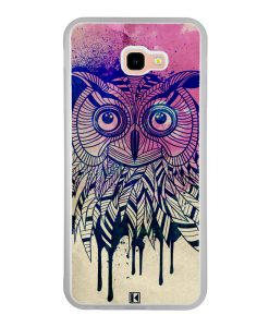 Coque Galaxy J4 Plus – Owl face