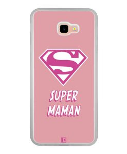 Coque Galaxy J4 Plus – Super Maman