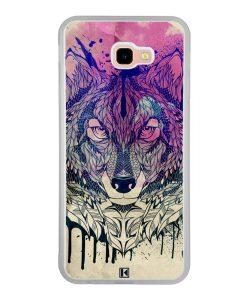 Coque Galaxy J4 Plus – Wolf Face