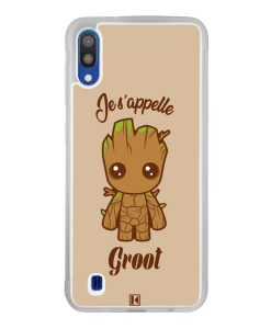 Coque Galaxy M10 – Je s'appelle Groot