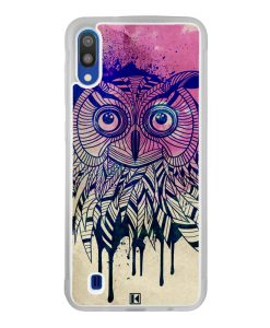 Coque Galaxy M10 – Owl face