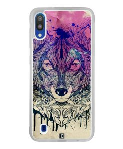 Coque Galaxy M10 – Wolf Face