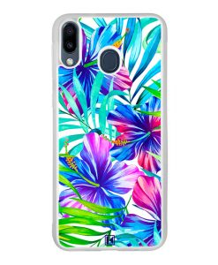 Coque Galaxy M20 – Exotic flowers