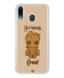Coque Galaxy M20 – Je s'appelle Groot