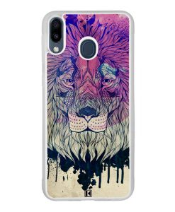 Coque Galaxy M20 – Lion Face