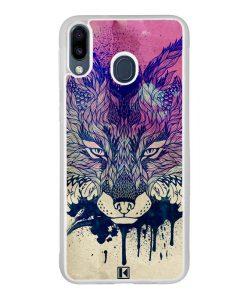 Coque Galaxy M20 – Fox face