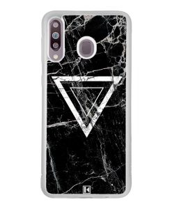 Coque Galaxy M30 – Black marble