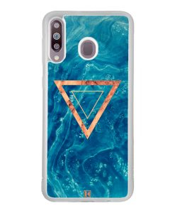 Coque Galaxy M30 – Blue rosewood