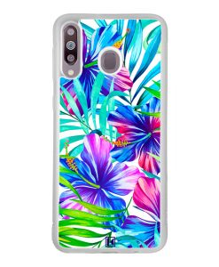 Coque Galaxy M30 – Exotic flowers