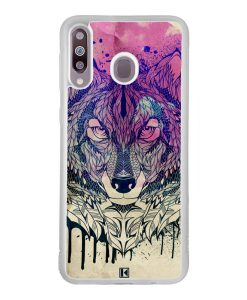 Coque Galaxy M30 – Wolf Face